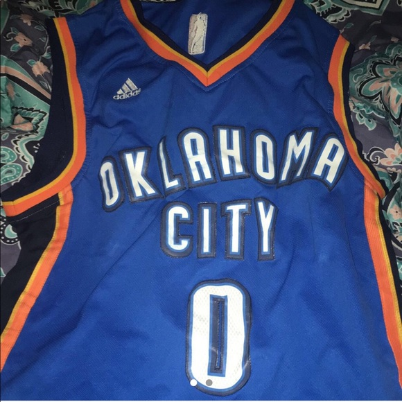 buy online 729bf e27b3 authentic nba russell westbrook okc thunder jersey
